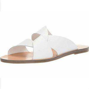Marc Fisher Women's Bomie Cross Strap Flat Sandals